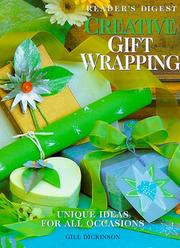 Cover of: Creative gift wrapping | Gill Dickinson