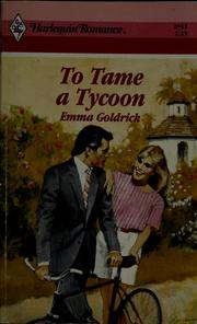 Cover of: To tame a tycoon