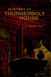 Cover of: Mystery at Thunderbolt House