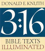 Cover of: 3:16: Bible texts illuminated