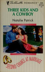 Cover of: Three kids and a cowboy