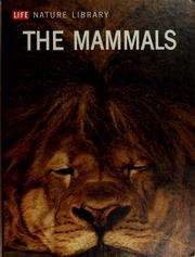 Cover of: The mammals | Richard Carrington