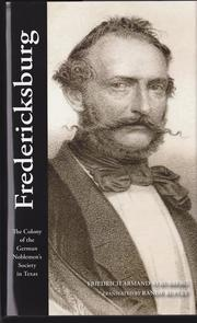 Fredericksburg by Friedrich Armand Strubberg, Tanslation and Editing by Randy Rupley