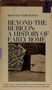 Cover of: Beyond the Rubicon | Reginald Hargreaves