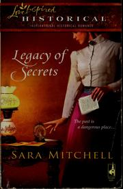 Cover of: Legacy of secrets