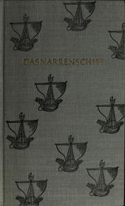 Cover of: Das Narrenschiff