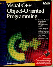 Cover of: Visual C++ object-oriented programming