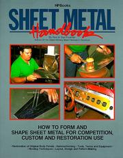 Cover of: Sheet metal handbook | Ron Fournier