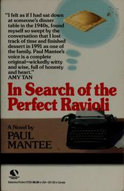 Cover of: In search of the perfect ravioli | Paul Mantee