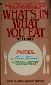 Cover of: What's in what you eat