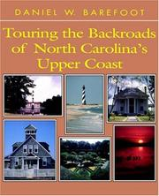 Cover of: Touring the backroads of North Carolina's upper coast
