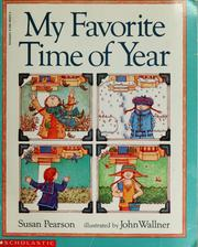 Cover of: My favorite time of year