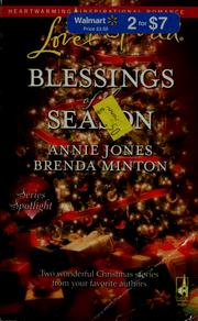 Cover of: Blessings of the season