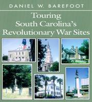 Cover of: Touring South Carolina's Revolutionary War sites