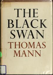 Cover of: The black swan | Thomas Mann