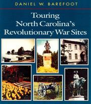 Cover of: Touring North Carolina's Revolutionary War sites