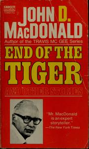 Cover of: End of the Tiger
