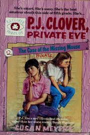 Cover of: P.J. Clover, private eye