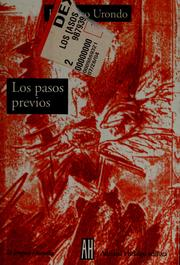 Cover of: Los pasos previos