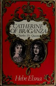 Cover of: Catherine of Braganza