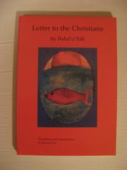 Cover of: Letter to the christians