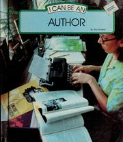 Cover of: I can be an author