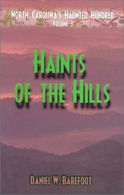 Cover of: Haints of the Hills (North Carolina's Haunted Hundred)