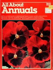 Cover of: All about annuals