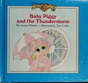 Cover of: Baby Piggy and the thunderstorm
