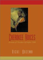 Cover of: Cherokee Voices