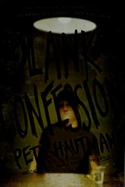 Cover of: Blank confession