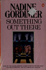 Cover of: Something Out There (Fiction Ser.)