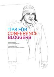 Cover of: Tips for Conference Bloggers by