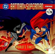 Cover of: Batman & Superman world's finest