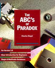 Cover of: The ABC's of Paradox