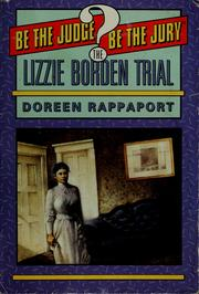 Cover of: The Lizzie Borden trial