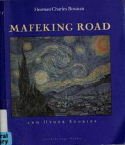 Cover of: Mafeking Road and other stories