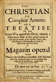Cover of: The Christian in compleat armour