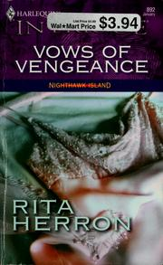 Cover of: Vows of vengeance