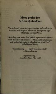 Cover of: A kiss of shadows