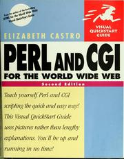 Cover of: Perl and CGI for the World Wide Web