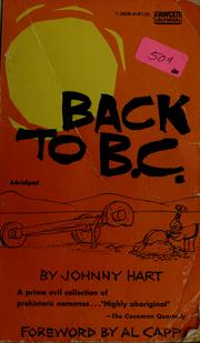 Cover of: Back to B. C.