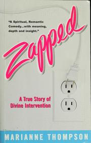 Cover of: Zapped | Marianne Meye Thompson