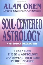 Cover of: Soul-centered astrology: a key to your expanding self