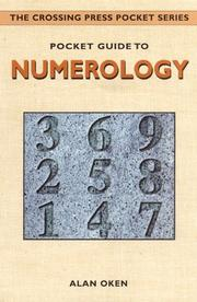 Cover of: Pocket guide to numerology