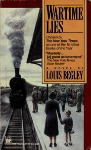 Cover of: Wartime lies