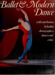 Cover of: Ballet and modern dance |