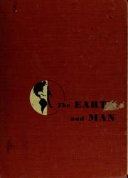 Cover of: The earth and man | Darrell Haug Davis