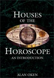 Cover of: Houses of the horoscope: An Introduction