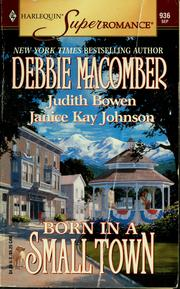 Cover of: Born in a Small Town